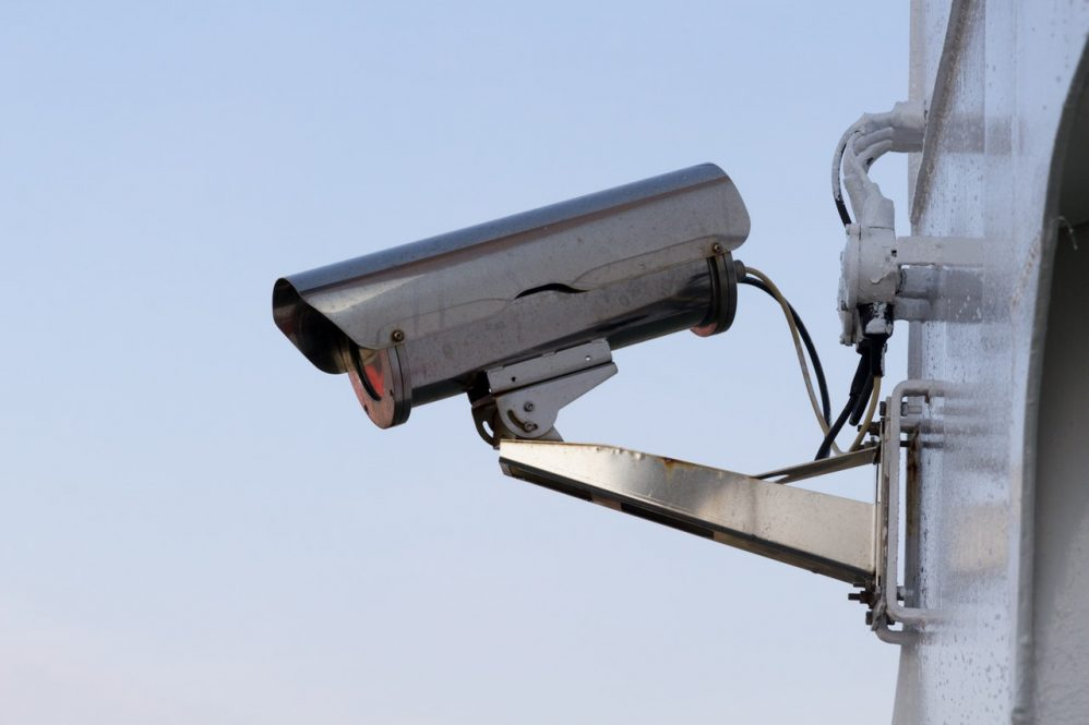 CCTV systems on street